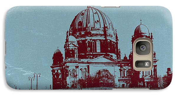 Berlin Cathedral Galaxy Case by Naxart Studio