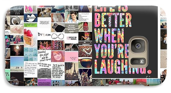 Galaxy Case featuring the photograph Better To Laugh by Holley Jacobs