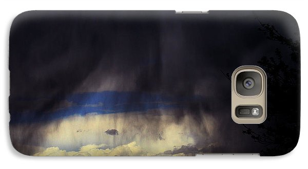 Galaxy Case featuring the photograph Beyond The Veil by Susanne Still