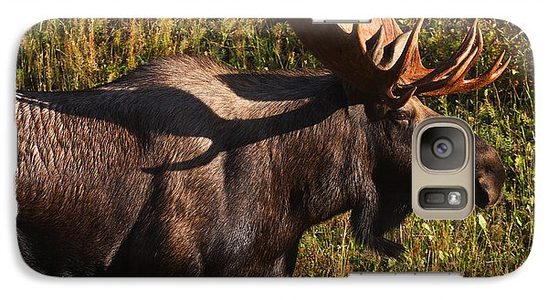 Galaxy Case featuring the photograph Big Bull by Doug Lloyd