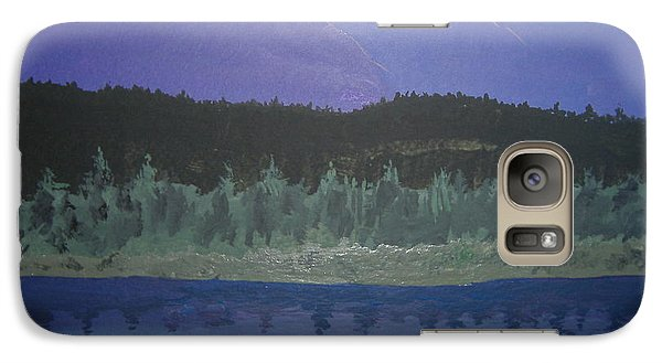 Galaxy Case featuring the painting Big Sky Country by Norm Starks