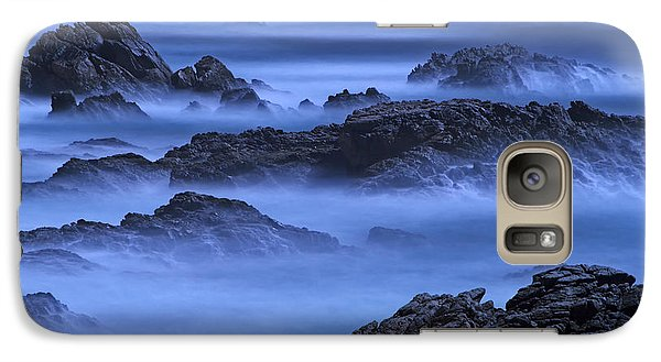 Galaxy Case featuring the photograph Big Sur Mist by William Lee