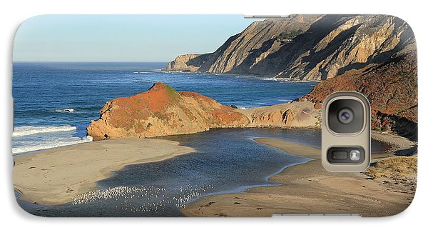 Galaxy Case featuring the photograph Big Sur by Scott Rackers