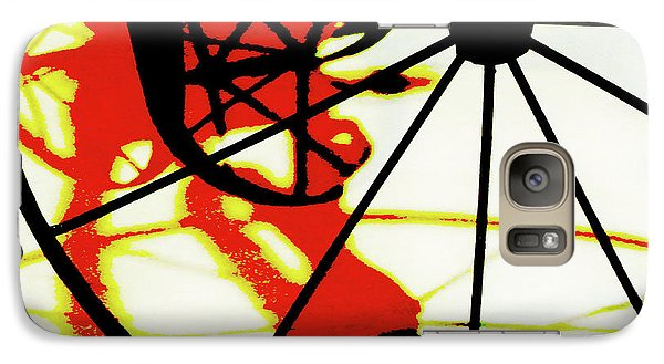 Galaxy Case featuring the photograph Big Wheel by Newel Hunter