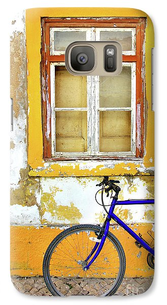 Bicycle Galaxy S7 Case - Bike Window by Carlos Caetano