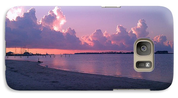 Galaxy Case featuring the photograph Biloxi Sunrise by Brian Wright