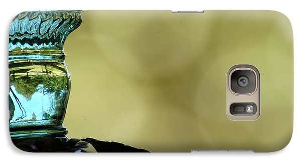 Galaxy Case featuring the photograph Upside Down World by Wanda Brandon