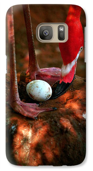 Galaxy Case featuring the photograph Bird Is The Word by Lon Casler Bixby
