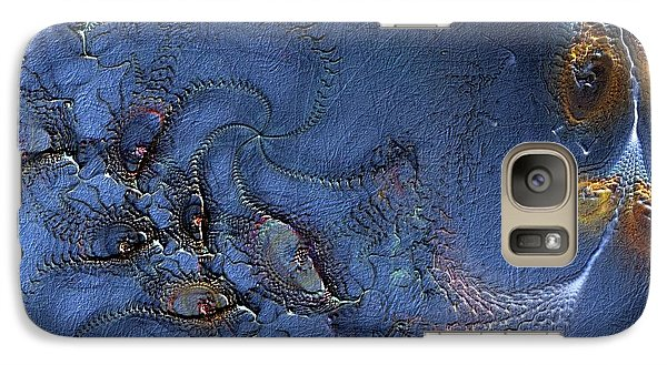 Galaxy Case featuring the digital art Birth Of The Cool by Casey Kotas