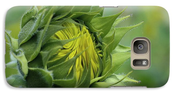 Galaxy Case featuring the photograph Birthing Beauty by Linda Mishler