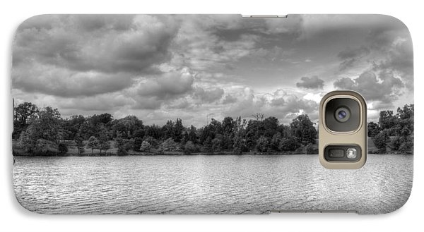 Galaxy Case featuring the photograph Black And White Autumn Day by Michael Frank Jr