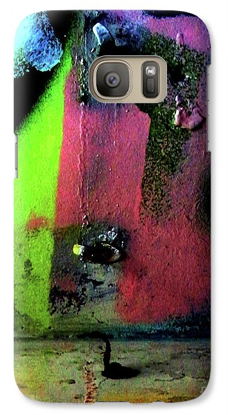 Galaxy Case featuring the photograph Black Light by Newel Hunter