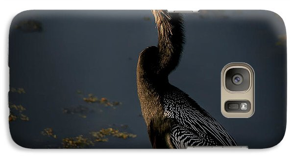 Galaxy Case featuring the photograph Black Light by Steven Sparks