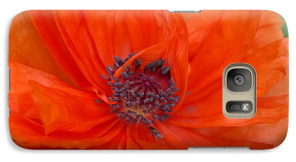 Galaxy Case featuring the photograph Blazing Beauty IIi by Linda Mishler