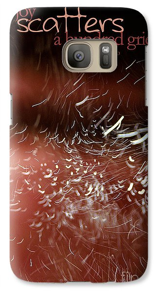 Galaxy Case featuring the photograph Bliss Sprinkle by Vicki Ferrari