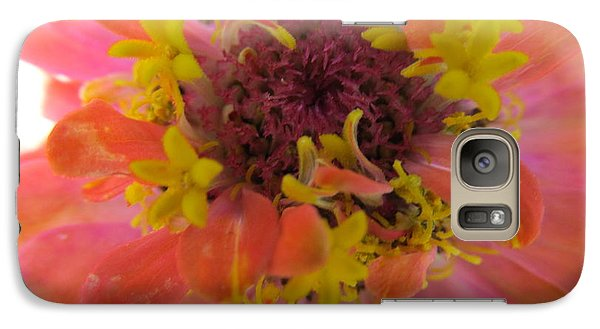 Galaxy Case featuring the photograph Blooming Within by Tina M Wenger