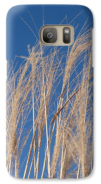 Galaxy Case featuring the photograph Blowing In The Wind by Barbara McMahon