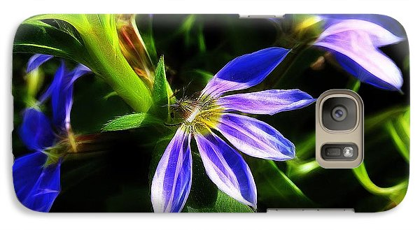 Galaxy Case featuring the photograph Blue Ballet by Judi Bagwell