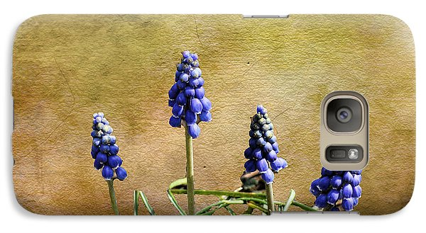 Galaxy Case featuring the photograph Blue Bells by Rick Friedle