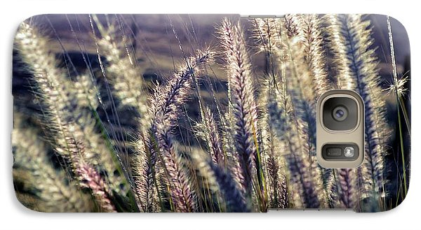 Galaxy Case featuring the photograph Blue Buffalo Grass by Werner Lehmann