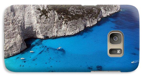 Galaxy Case featuring the photograph Blue by Milena Boeva