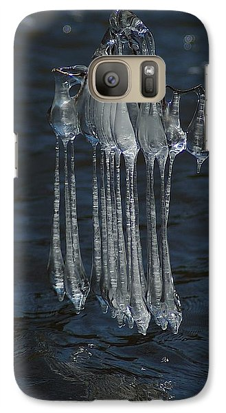 Galaxy Case featuring the photograph Blue Return by Joseph Yarbrough