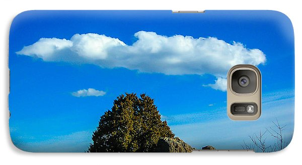 Galaxy Case featuring the photograph Blue Skies by Shannon Harrington