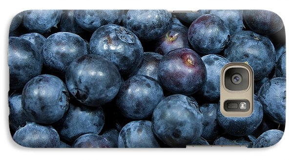 Galaxy Case featuring the photograph Blueberries by Michael Waters