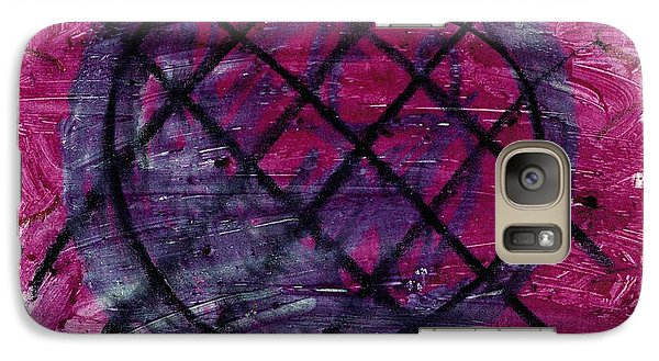 Galaxy Case featuring the drawing Blueberry Pie by Patrick Morgan