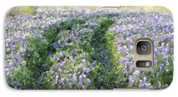 Galaxy Case featuring the photograph Bluebonnet Trail by Donna  Smith