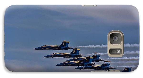 Galaxy Case featuring the photograph Blues by David Gleeson