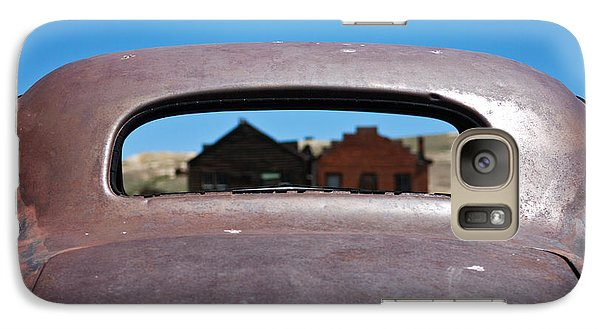 Galaxy Case featuring the photograph Bodie Ghost Town I - Old West by Shane Kelly