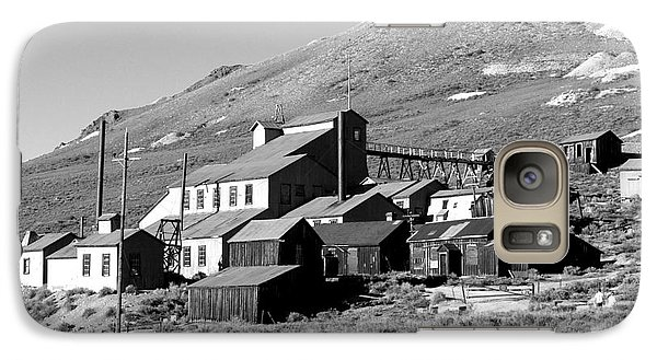 Galaxy Case featuring the photograph Bodie Ghost Town by Jim McCain