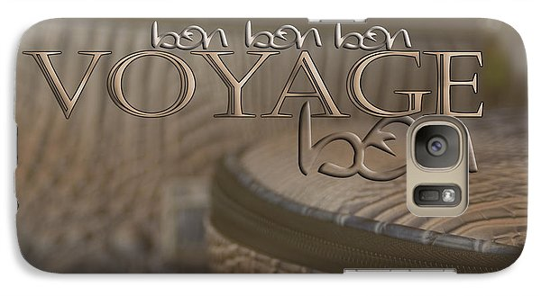 Galaxy Case featuring the photograph Bon Voyage by Vicki Ferrari Photography