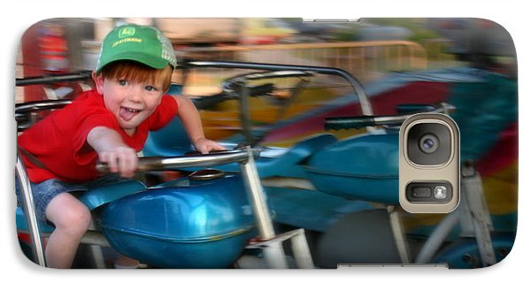 Galaxy Case featuring the photograph Born To Ride by Kelly Hazel