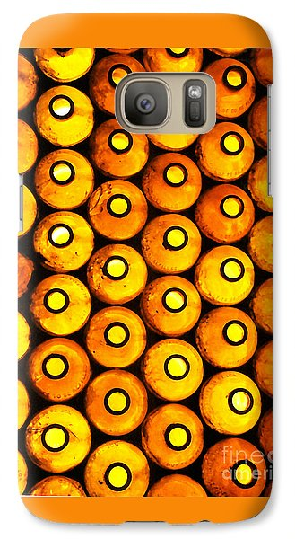 Galaxy Case featuring the photograph Bottle Pattern by Nareeta Martin