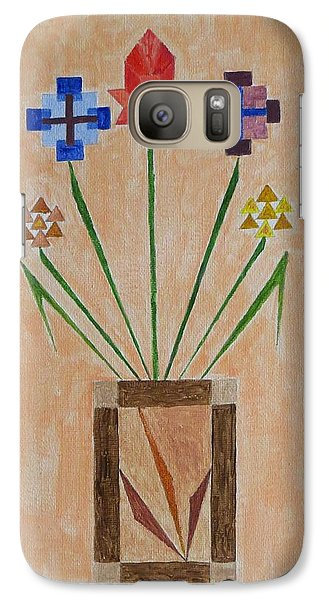 Galaxy Case featuring the painting Bouquet by Sonali Gangane