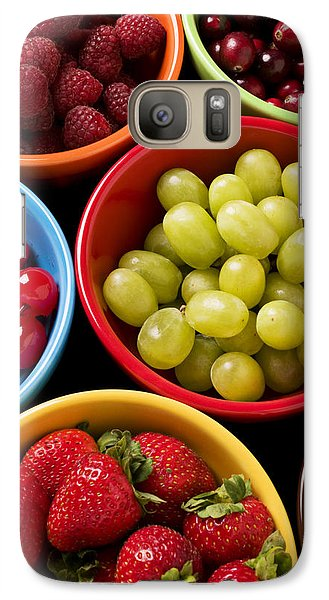Bowls Of Fruit Galaxy S7 Case