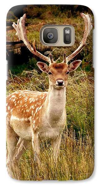 Galaxy Case featuring the photograph Wildlife Fallow Deer Stag by Linsey Williams