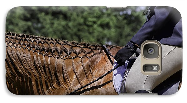 Galaxy Case featuring the photograph Braided Mane by Betty Denise
