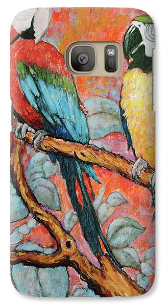 Galaxy Case featuring the painting Brazilians Jailed For Life by Charles Munn