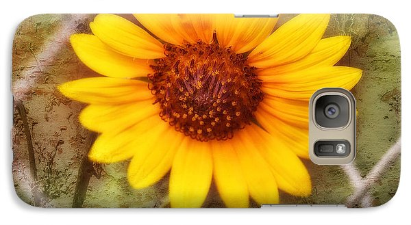 Galaxy Case featuring the photograph Breaking Out by Joan Bertucci