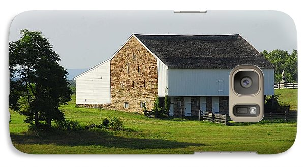 Galaxy Case featuring the photograph Brian Barn At Gettysburg by Cindy Manero