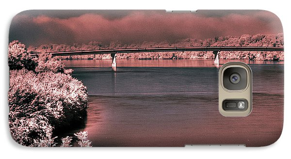 Galaxy Case featuring the photograph Bridge Across The Mo by William Fields