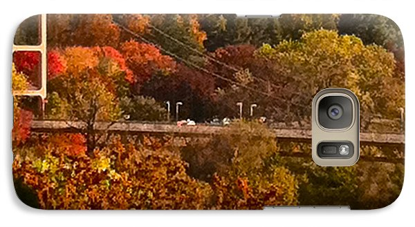Galaxy Case featuring the photograph Bridge by Bill Owen