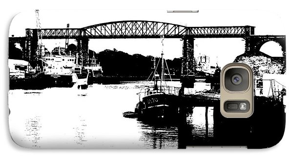 Galaxy Case featuring the photograph Bridge On The Boyne by Charlie and Norma Brock