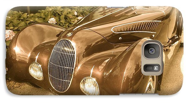 Galaxy Case featuring the photograph Bristol Teardrop Special by John Colley