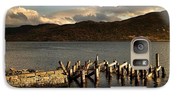 Galaxy Case featuring the photograph Broken Dock, Loch Sunart, Scotland by John Short