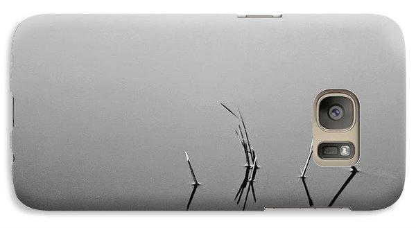 Galaxy Case featuring the photograph Broken Reeds by Dan Wells