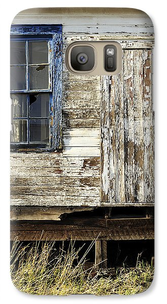 Galaxy Case featuring the photograph Broken Window by Fran Riley